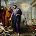 Christ Healing At Pool Of Bethesda by Murillo