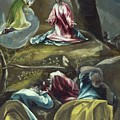 Christ In The Olive Garden by El Greco