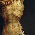 Christ On The Cross by Matthias Grunewald