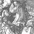 Christ On The Mount Of Olives 1511 by Durer Albrecht