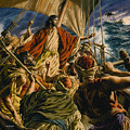 Christ On The Sea Of Galilee by Jack Hayes