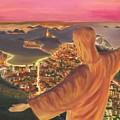 Christ Over Rio by Nicolas Nomicos