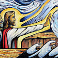 Christ Rebukes The Wind And Waves by Daniel Jimick