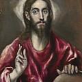 Christ The Saviour by El Greco