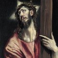 Christ With The Cross by El Greco