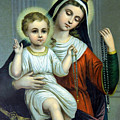 Christianity - Holy Family by Munir Alawi