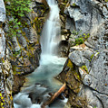 Christine Falls In The Canyon by Adam Jewell
