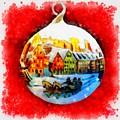 Christmas Ball Ball by Esoterica Art Agency