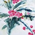 Christmas Berries by Angela Cartner