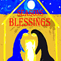Christmas Blessings 5 by Patrick J Murphy