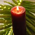 Christmas Candle 2 by Susanne Van Hulst