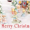 Christmas Card 5 by Masha Batkova