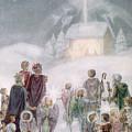 Christmas Card by Daphne Allan