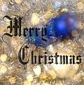 Christmas Card Design Merry Christmas by Karen Musick