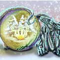 Christmas Card Dragon 2015 by Annissa Wood