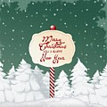Christmas Card by FL collection