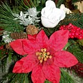 Christmas Centerpiece by Sharon Duguay