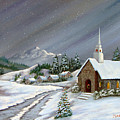 Christmas Church by Jerry Walker