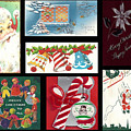 Christmas Collage  by Cathy Anderson