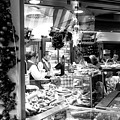 Christmas Eve Food Shopping At The Viktualienmarkt by John Rizzuto