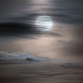 Christmas Full Moon by Bill Wakeley