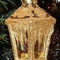 Christmas Golden Lantern by Deborah Brewer