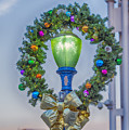 Christmas Holiday Wreath With Balls by David Zanzinger