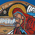 Christmas Icon 1 by William Bowers