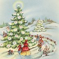 Christmas Illustration 15 - Winter Ladscape During Christmas Time by TUSCAN Afternoon