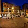Christmas In Cortona 5 by Al Hurley