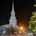 Christmas In Market Square by Jeff Stallard
