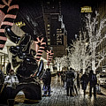 Christmas In Nyc by Terry Cooper