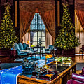 Christmas In The Lounge by Nick Zelinsky