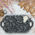 Christmas Interior With Sweets And Vintage Kitchen Tools by Andrea Varga