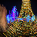 Christmas Lights Abstract II by Rick Berk