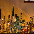 Christmas Lights And Bottles 4197t by Doug Berry