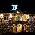 Christmas Lights In Sonoma, California by Glen Faxon