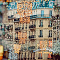 Christmas Lights Paris At Twilight by Lynn Langmade