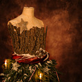 Christmas Mannequin by Amanda Elwell