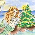 Christmas Mermaid by Vonda Lawson-Rosa