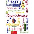 Christmas Message  -  Typography by Kathleen Sartoris