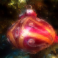 Christmas Ornaments Abstract Two by Morgan Carter
