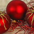 Christmas Ornaments by Patricia Hofmeester