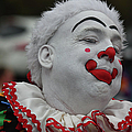 Christmas Parade Clown by Ericamaxine Price