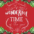 Christmas Poinsettas by Teresa Wilson