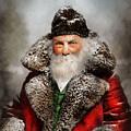 Christmas - Santa - Saint Nicholas 1895 by Mike Savad