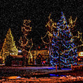 Christmas Snow Storm In Big Bear by Tommy Anderson