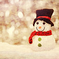 Christmas Snowman by Bellesouth Studio