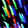 Christmas Time Lights On Tree by LeeAnn McLaneGoetz McLaneGoetzStudioLLCcom