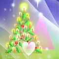 Christmas Tree And Colors by Laura Greco